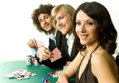 Poker vid bord